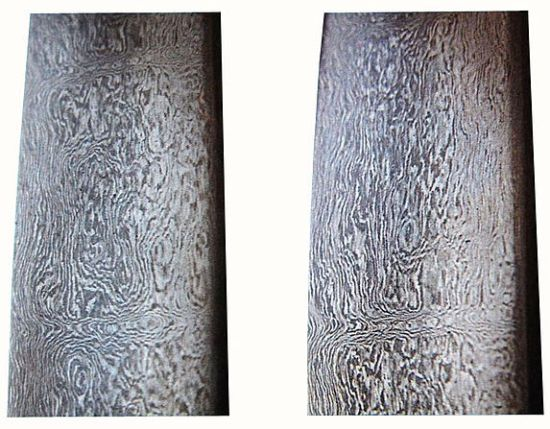 The Damascus steel