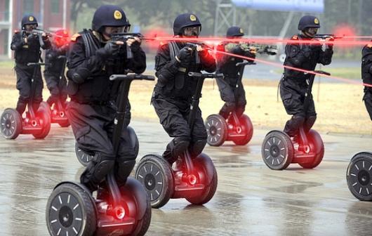 The Laser Guns