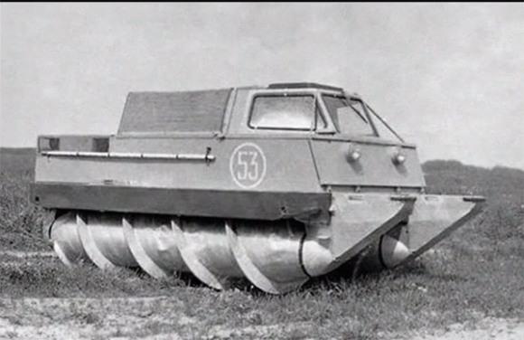 The Corkscrew Tank