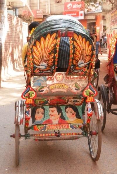 The Custom Rickshaws of India and Bangladesh