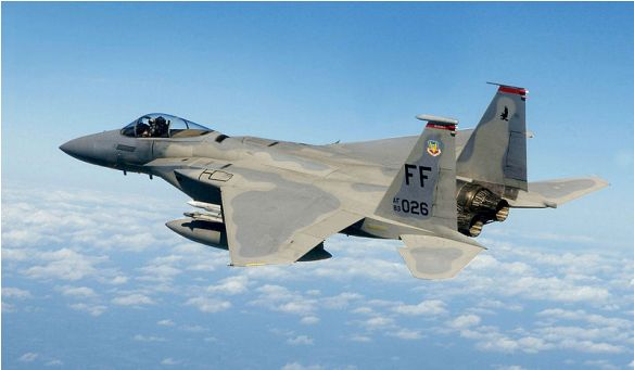 F-15 Eagle: Top 10 Fastest Military Aeroplanes