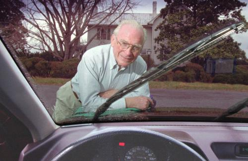 invention of the Windshield Wiper