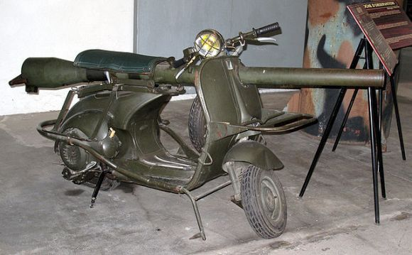 The Scooter Mounted Cannon