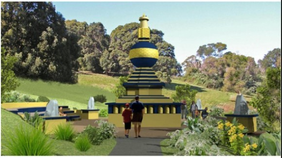 The Kalchakra World Peace Stupa