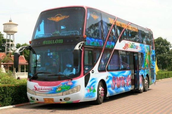 Tourist Busses of Thailand
