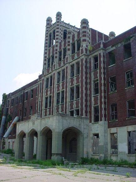 The Waverly Hills, Sanatorium, Kentucky, United States of America