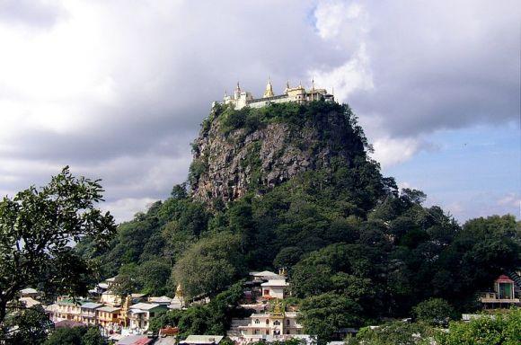 Popa Taungkalat Monastery, Myanmar