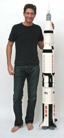 Saturn V Rocket Replica