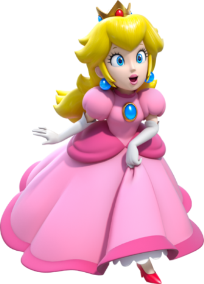 The Peach (Princess Toadstool)